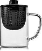 Термокружка для заваривания Walmer Tet-a-Tet с крышкой, 400мл, чёрная W37000405