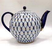 Чайник доливной Кобальтовая сетка, ф. Тюльпан ИФЗ 80.00232.00.1