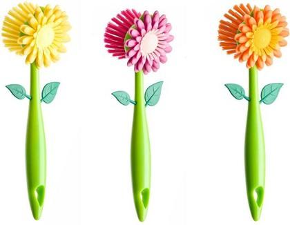 Щётка для посуды Vigar Flower Power 2293