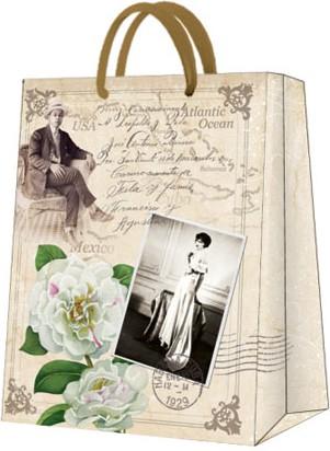Пакет подарочный бумажный Paw Мартинез 26.5x33.5x13см AGB017405