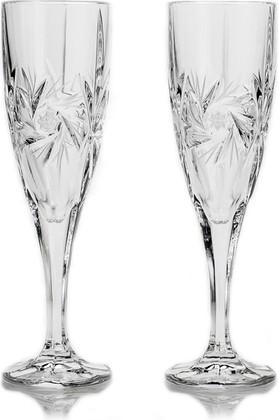 Фужеры для шампанского 180мл, 2шт Эльза Crystalite Bohemia 1KD08/0/88327/180Х2