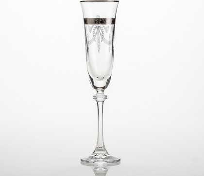 Фужеры 6шт Александра 190мл шампанское Crystalite Bohemia 1SD70/190/436528K