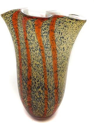 Ваза Золотой песок 36см Top Art Studio ZB2195-TA