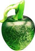 Фигурка стеклянная Top Art Studio Зелёное яблоко 9.5x9.5x14.5см ZB2440-TA