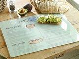 Доска разделочная стеклянная Creative Tops Французская пекарня 48х38см 5187286