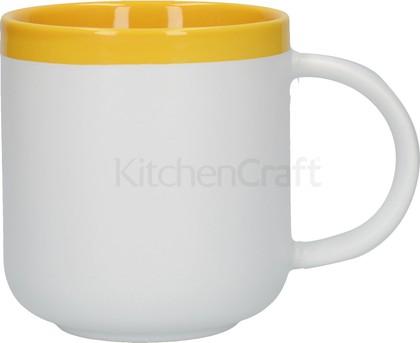 Кружка KitchenCraft La Cafetiere Barcelona Latte, Янтарный, 400мл C000416