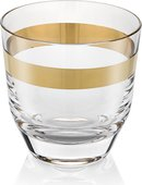 Набор стаканов для виски IVV Avenue Gold 325мл, 6шт 7947.4
