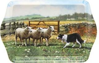 Поднос малый Колли-пастуx 21x14см The Leonardo Collection LP91211