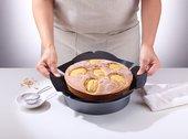 Коврик для кексов NoStik антипригарный, круглый d20см, 20x20см 892647000716