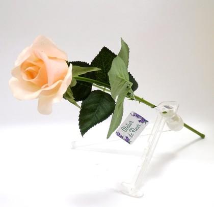 Роза Алба коралловая 45см живое прикосновение Atelier de Fleur WAF1148-TA