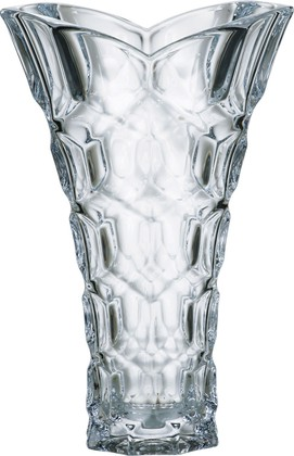 """Ваза """"Медовые соты"""" 35,5см Crystalite Bohemia 8K976/0/99B68/355"""