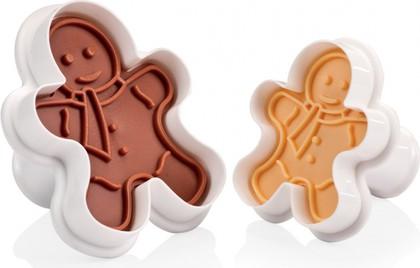 Формочки с печатью для печенья, 2шт, фигурки Tescoma Delicia 630858.00