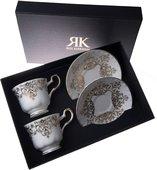 Набор чайных пар Roy Kirkham Букингемский дворец, 2шт XBUCK1130