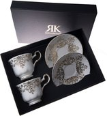 Набор из 2-х чайных пар Букингемский дворец Roy Kirkham XBUCK1130