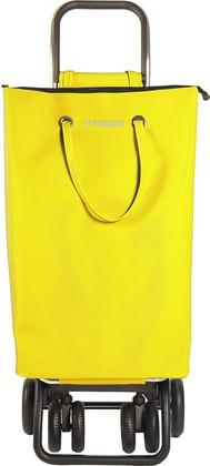 Сумка-тележка хозяйственная жёлтая Rolser LOGIC TOUR SUP003amarillo