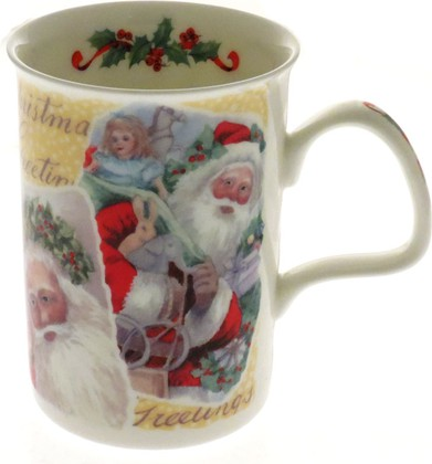 Кружка Рождественские пожелания Ланкастер 300мл Roy Kirkham XCHRPGRL1000