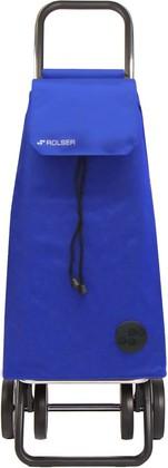 Сумка-тележка хозяйственная синяя Rolser DOS+2 MOUNTAIN MOU003azul