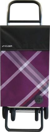 Сумка-тележка хозяйственная фиолетовая Rolser CLA007more