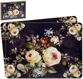 Подставки под тарелки на стол Lesser & Pavey Цветение Роз 4шт 29x22см LP94004
