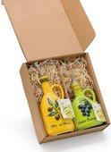 Бутылки для масла и уксуса Nuova Cer Oliere Classiche, набор 2шт, зелёный, жёлтый 8966-GSO/VML