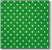 Салфетки для декупажа Paw Горох зелёный, 33x33см, 20шт SDL066018