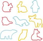 Формочки для печенья Tescoma Delicia Kids Животные, 9шт 630929.00