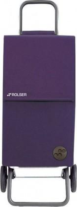 Сумка-тележка хозяйственная фиолетовая Rolser RG PARIS PAR004more