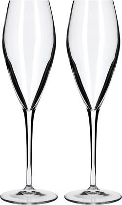 Набор бокалов для шампанского Atelier, 2шт 270мл Luigi Bormioli 08748/01