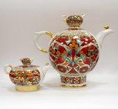Комплект чайников Красный петух, ф. Семейный ИФЗ 81.10357.00.1