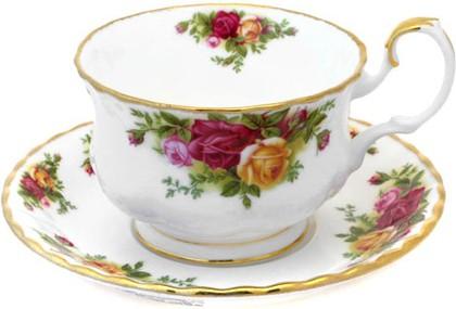 Чайная пара для завтрака Royal Albert Розы Старой Англии, 350мл IOLCOR152/153
