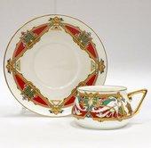 Чашка с блюдцем ИФЗ Билибина, Сказочные птицы-1 81.16211.00.1