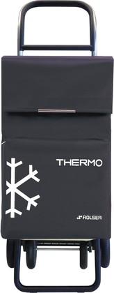 Термосумка-тележка хозяйственная серая Rolser QUATTRE.2 THERMO TER039marengo