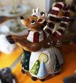 Чайник заварочный Рождественский Олень, 22х20х16см Blue Sky LX-BL1757