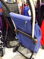 Сумка-тележка Rolser SuperSac, 2 колеса, складная, голубая SPS001azul