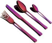 Набор столовых приборов Herdmar Oslo Violet, 24 предмета, фиолетовый 0823024VI00E14
