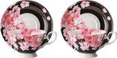 Чайная пара Top Art Studio Цветение Сакуры, 180мл, набор 2 пары SC2477-TA
