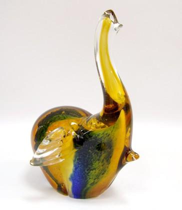 Фигурка стеклянная Слонёнок 11x18.5см Top Art Studio ZB1517-TA