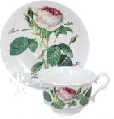 Чайная пара Roy Kirkham Роза Редаут, 200мл XROSA1180