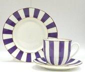 Набор чайный ИФЗ Ландыш, Да и Нет, фиолетовый, 3 предмета 81.23058.00.1