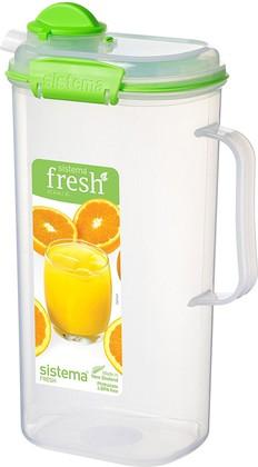 Кувшин для сока Sistema Fresh 2л, салатовый 951420