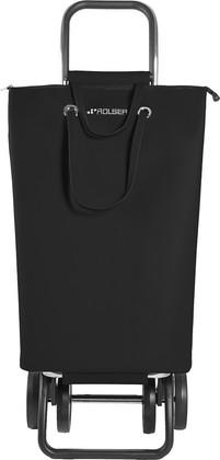 Сумка-тележка хозяйственная чёрная Rolser LOGIC DOS+2 SUP002negro