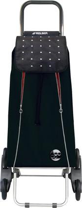 Сумка-тележка хозяйственная черно-красная Rolser RD6 IMX015negro/rojo