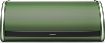 Хлебница Brabantia стальная с крышкой, зелёный мох 487002