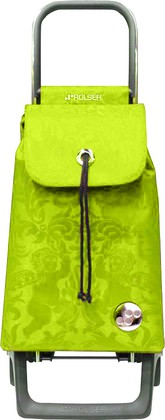 Сумка-тележка хозяйственная компактная зелёный лайм Rolser JOY-1800 BABY BAB008lima
