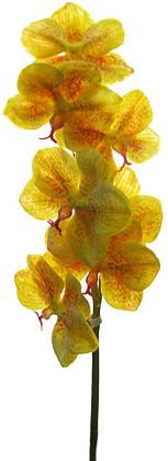 Цветок искусственный Орхидея Ванда желтая Top Art Studio VO-001F1-29S-YW