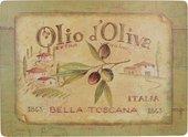 Подставки под тарелки на стол Creative Tops Olio d'Oliva 40x29см, 4шт, пробка 5169661