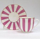 Чашка с блюдцем «Да и нет», светло-розовый, ф. Ландыш ИФЗ 81.23096.00.1