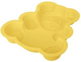 """Форма силиконовая для пирога """"Медведь"""", 28x24см Tescoma DELICIA Silicone 629316"""