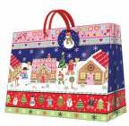 """Пакет подарочный """"Имбирный домик"""" 25x20x10см Paw AGB003318"""