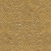 Салфетки для декупажа Орнамент золото, 33x33см, 3 слоя, 16шт Paper+Design 24046